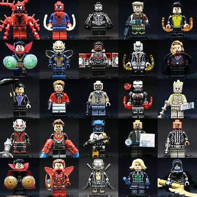 New 2019 MARVEL Superheroes Custom Lego Minifigures Building toy minifigs bricks