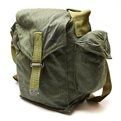 Genuine Polish gas mask MC-1 carrying Bag pouch shoulder strap army issue
