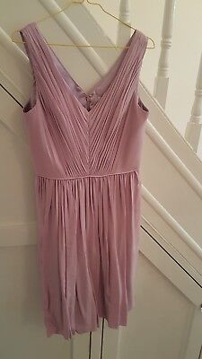 BODEN  brand new with tags- Lilac Pink Cocktail Dress Size 10
