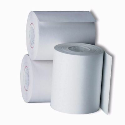 """Lot 20 NEW ROLLS 2-1/4"""" x 85' THERMAL RECEIPT PAPER POS CASH REGISTER USA Made"""