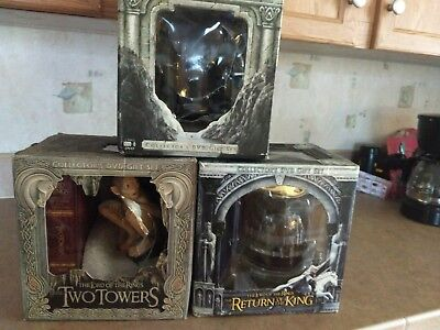 All 3 Lord of the Rings Collectors Edition DVD Box Gift sets! Complete set