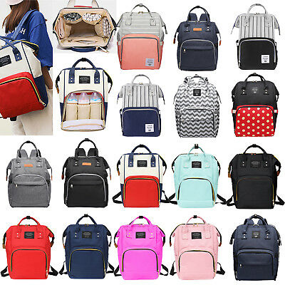 Mummy Maternity Nappy Diaper Backpack Large Baby Care Bags Travel Handbags Purse