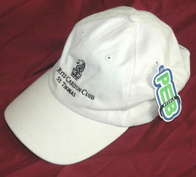 New THE RITZ CARLTON CLUB ST THOMAS HAT Baseball Hat GOLF Luxury Hotel  Resort 40ed71d0830