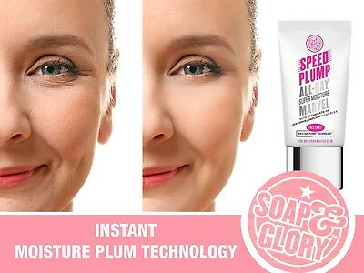 Soap & Glory SPEED PLUMP ALL-DAY SUPER MOISTURE MARVEL - BNIB