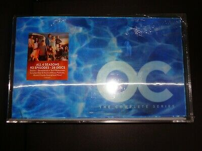 THE O C Complete Series-92 episodes on 28 discs-TV's most clever addictive soap
