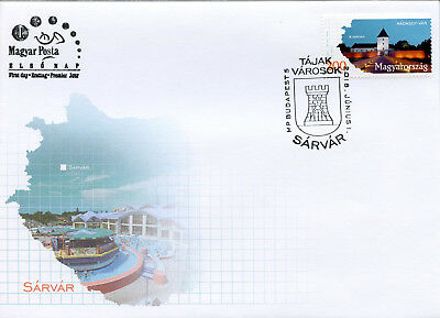Hungary 2018 FDC Regions & Towns Sarvar 1v Cover Tourism Architecture Stamps