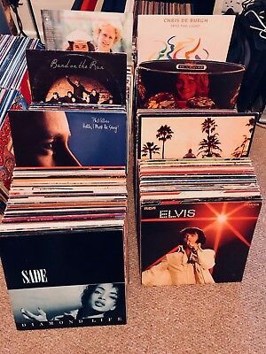 Assorted Vinyl Collection Bargain Wholesale Grab Bag Lot Job Bulk