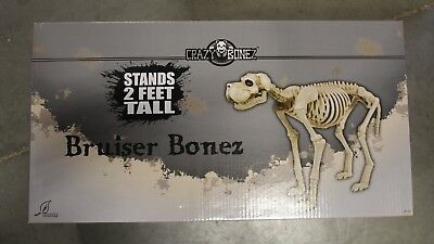 NEW 28038 Seasons USA Large Skeleton Dog 35 in. L Halloween Decoration