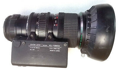 FUJINON-TV.Z ZOOM LENS VCL-712BXEA S12X7.5MD-D38 1:1.4/7.5-90mm LENS
