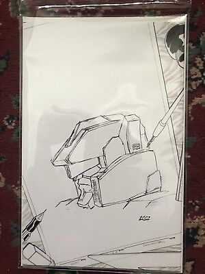 Transformers IDW Infiltration #1 New Dimension Sketch Cover #23 Of 100