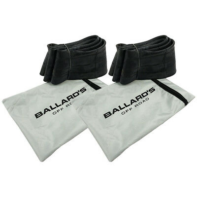 "Ballards NEW Mx 21"" & 19"" Heavy Duty Front & Rear Dirt Bike Tube Combo Bundle"