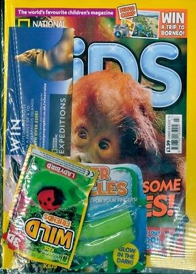 National Geographic Kids Magazine Summer Issue 2018 ~ New Sealed With Gifts ~