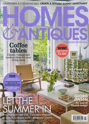 Homes & Antiques Magazine Issue August 2018 ~ New ~