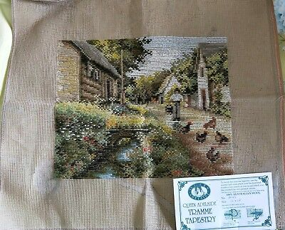 BRAND NEW QUEEN ADELAIDE Trammed TAPESTRY CANVAS & WOOL No. N43