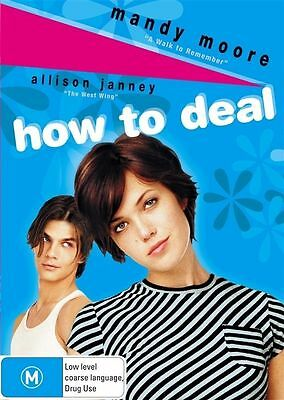 How To Deal (DVD, 2007) BRAND NEW SEALED Mandy Moore