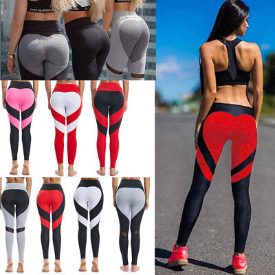 Women Sports Yoga Leggings Workout Gym Fitness Pants Athletic Running Trousers