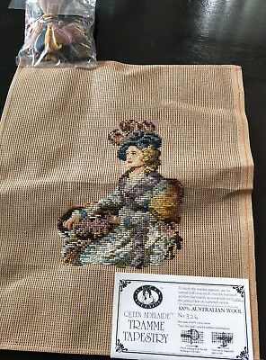 BRAND NEW QUEEN ADELAIDE Trammed TAPESTRY CANVAS & WOOL No. 326