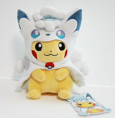 Pokemon Center Original Hooded Poncho Vulpix Ver One Size From Japan F//S NEW