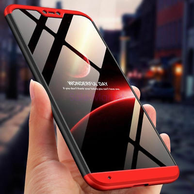Shockproof 360° Protective Hybrid Case Cover For Xiaomi Mi A2 Lite Redmi S2/Y2