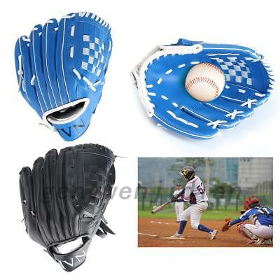 Kids/Adults Professional Baseball Glove Softball Mitts Left Hand Training UK