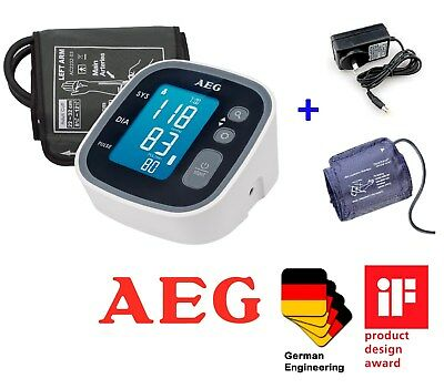 New Digital Electronic Backlight Blood Pressure Monitor Upper Arm Dual User