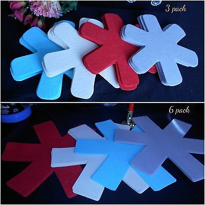 3 or 6 pack pan protectors Felt asterisk anti-scratch machine washable mats