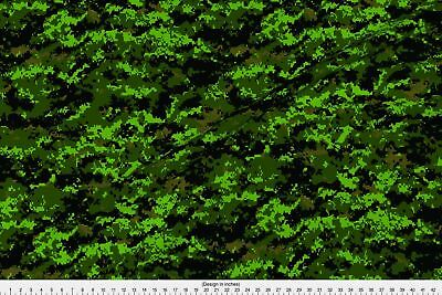 Canadian Cadpat Temperate Digital Camo Fabric Printed by Spoonflower BTY