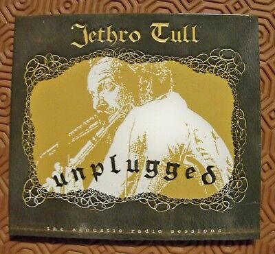 """Jethro Tull """"Unplugged The Acoustic Radio Sessions"""" Rare Cd Live Soundboard Dig"""