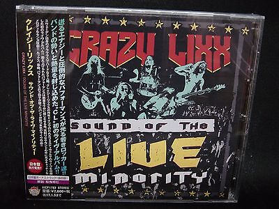 CRAZY LIXX Sound Of The Live Minority + 1 JAPAN CD Hardcore Superstar Sweden HM!