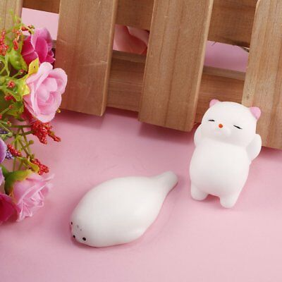 Mini Mochi Animals Squishy Squeeze Healing Fun Kids Cute Toy Stress ReliefKT