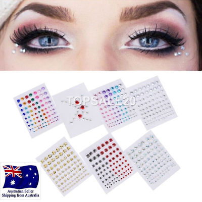 New Eyes Make up Crystal Sticker Tatoo Diamond Giliter Stickers