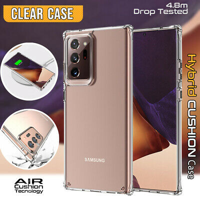 Samsung Galaxy Note 9 8 5 4 3 Case Slim Soft Gel Clear Silicone Protective Cover