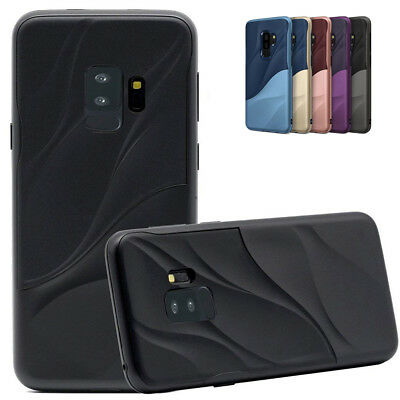 Dual Protection TPU+Hard PC Slim Phone Case Cover For Samsung S9 A8 J2 Pro 2018