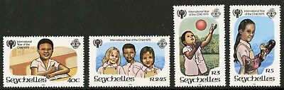 Seychelles  1979  Scott # 438-441  Mint Never Hinged Set