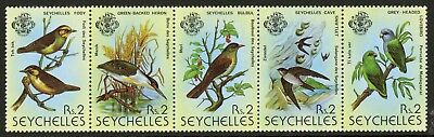 Seychelles  1979  Scott # 429a  Mint Never Hinged Strip