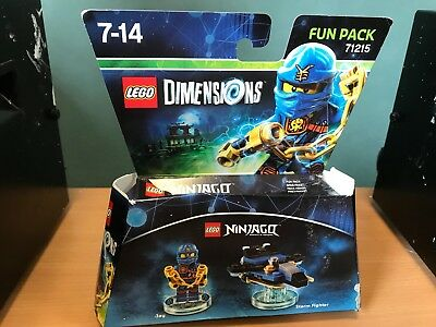 NEW LEGO NINJAGO 71215 GIFT BESTPRICE DIMENSIONS JAY FUN PACK TOY TAG