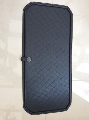 MINI Genuine Fitted Luggage Compartment Boot Mat Liner in Black 51472353820