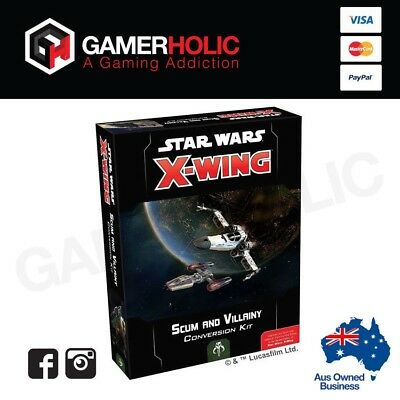 Star Wars X-Wing Miniatures Game Scum and Vilainy Conversion Kit 2nd Ed