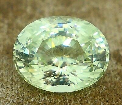 4.08 cts – Bright Mint Green Chrysoberyl With Video!