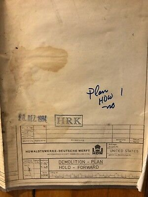 SS United States - United States Cruises - HD Werft - DEMO Plan - Hold Forward