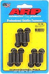 ARP 100-1209 Header Bolts 1.000 in UHL 3/8-16 in Thread Universal 12-Point