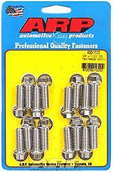 ARP 400-1210 Header Bolts 1.000 in UHL 3/8-16 in Thread Universal 12-Point