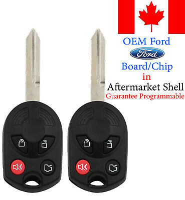 2x Original OEM Keyless Entry Remote Key Fob For Ford Mazda Lincoln Mercury