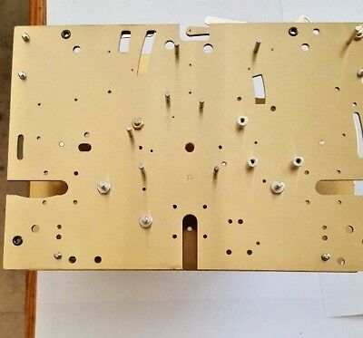 Hermle Tublar Grandfather clock movement 1171-890 front and back plate