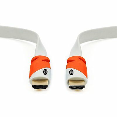 Flat Cable Hdmi 50 Ft - 2.0 - High Speed Hdmi Flat Wire  15 Meter / 50 Feet