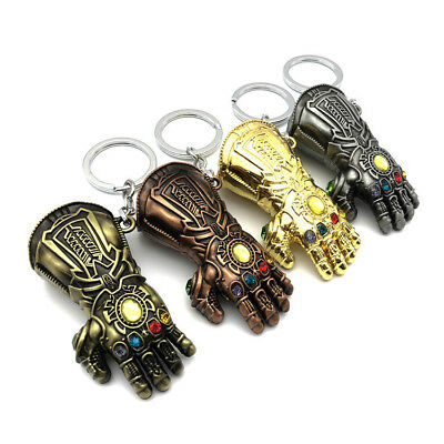 Marvel Avengers: Infinity War Thanos Infinity Gauntlet Keychain Glove Keyring