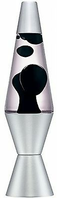 Details about  Lava Lite 2116 14.5-Inch Classic Silver-Based Lava Lamp, Black Wa