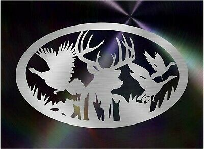 DXF CNC dxf for Plasma Deer Turkey Goose Home Decor Vector Panel Plasmacam