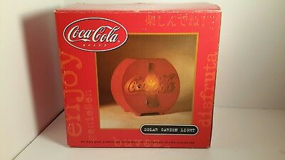 Coca Cola Solar Powered Garden Light