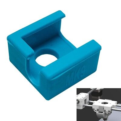 Blue Silicone Sock Cover For MK7/8/9 3D Printer Aluminum Heater Block Part X2A8